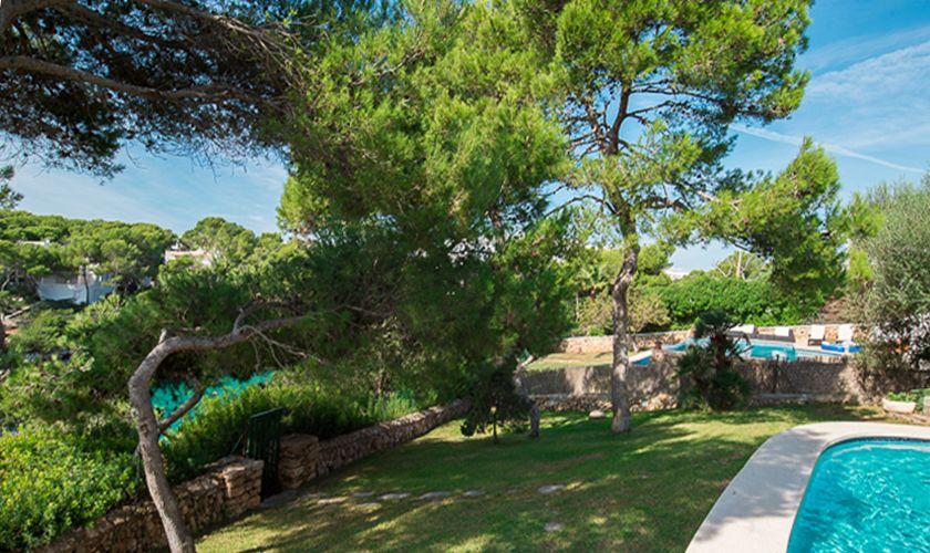 Garten Ferienhaus Meerblick Mallorca PM 6539