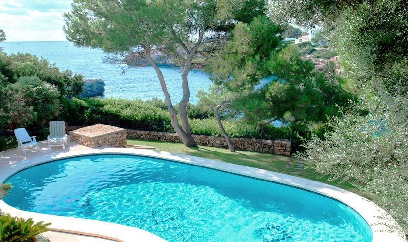 Pool und Meerblick Ferienvilla Mallorca PM 6539