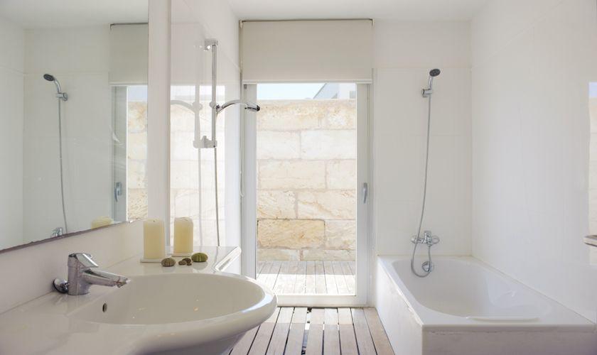 Badezimmer Ferienvilla Mallorca Südosten PM 6540