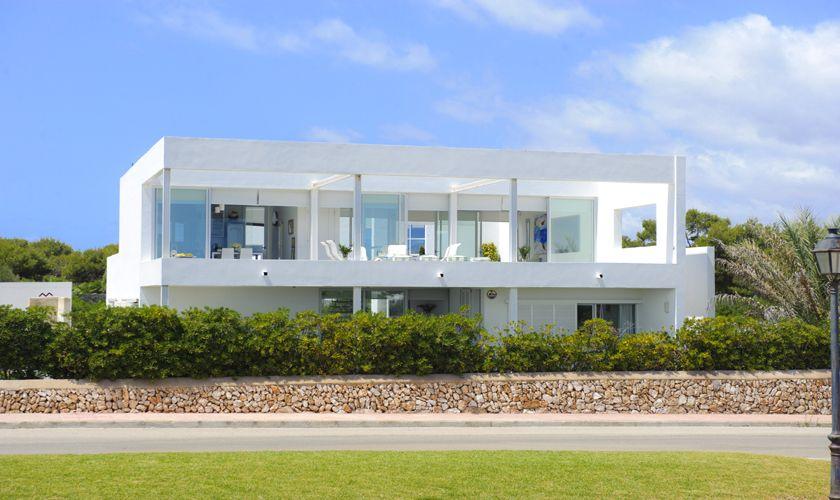 Blick auf die Villa Mallorca Meerblick PM 6540