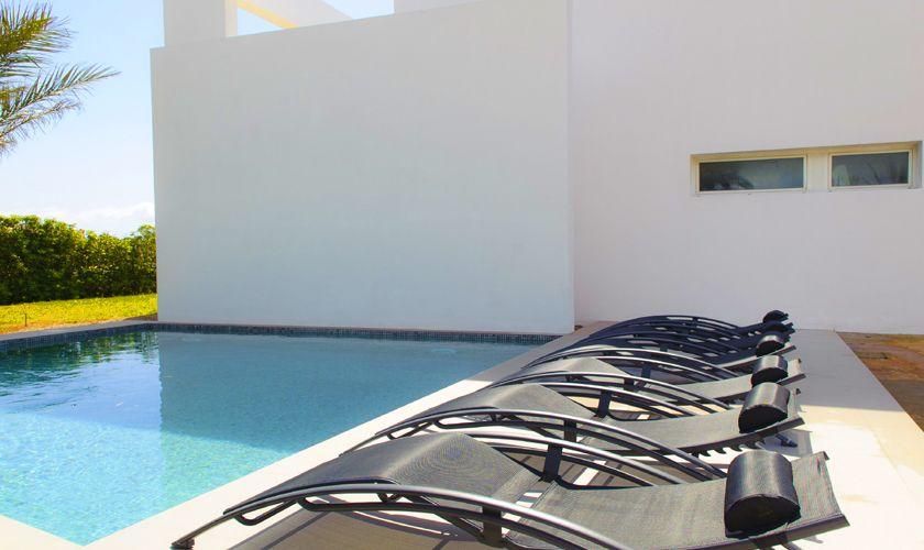 Poolblick Villa Mallorca Meerblick PM 6540
