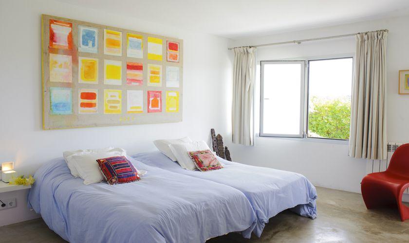 Schlafzimmer Ferienvilla Mallorca Meerblick PM 6540