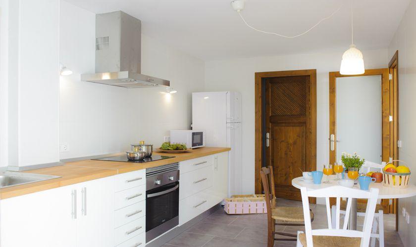 Küche Ferienhaus Mallorca Südosten PM 6541