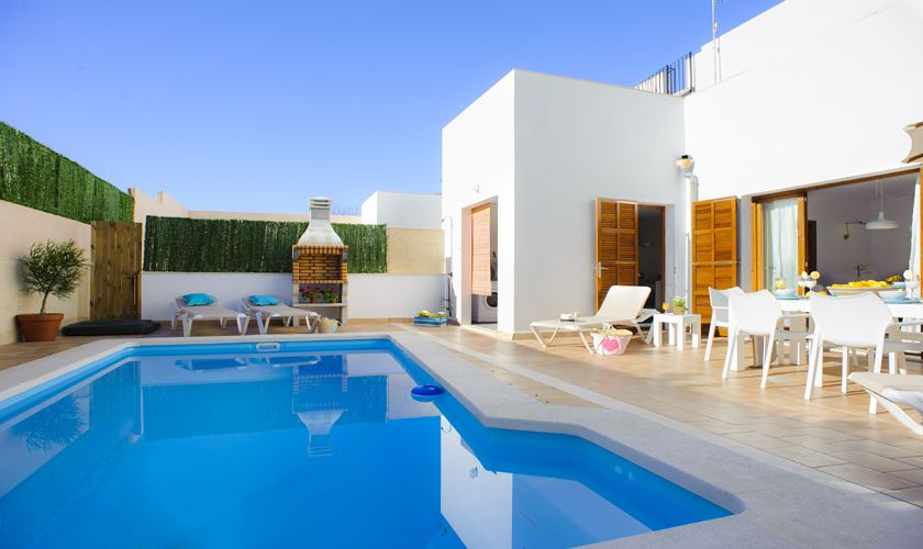 Pool und Ferienhaus Mallorca Cas Concos PM 6541