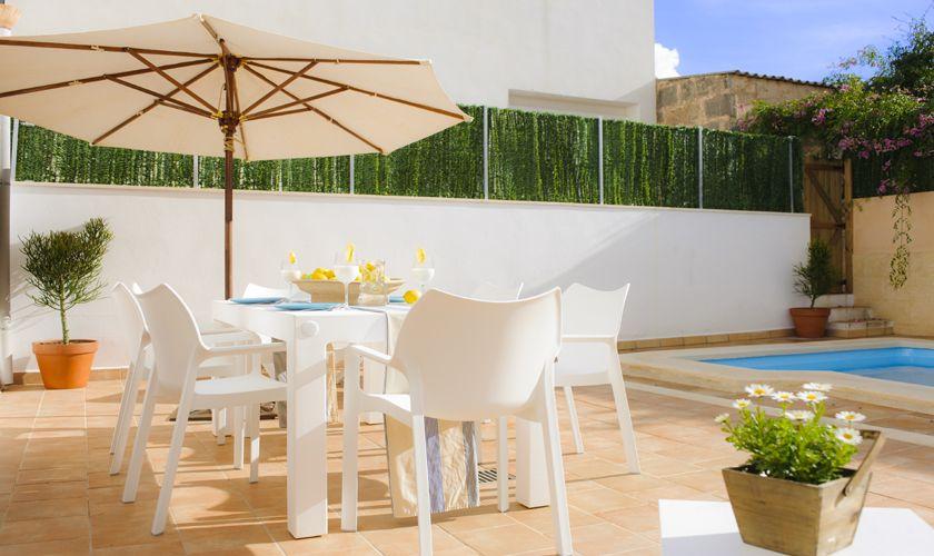 Terrasse Ferienhaus Mallorca Südosten PM 6541