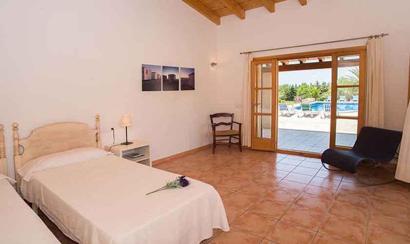 Wohnraum Finca Mallorca Südosten PM 6547