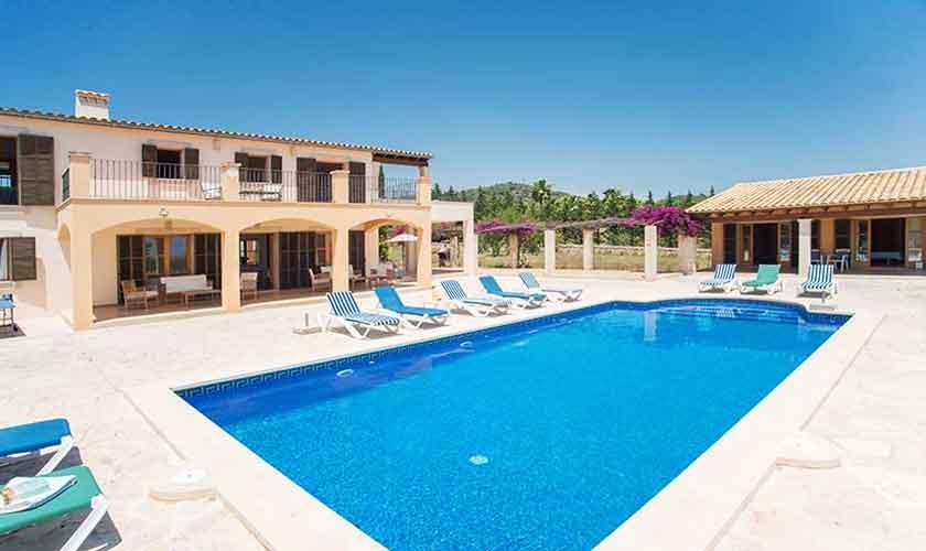 Pool und Ferienvilla Mallorca Südosten PM 6547