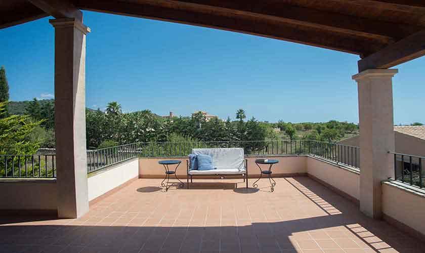 Terrasse Ferienvilla Mallorca Südosten PM 6547