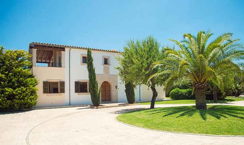 Blick auf die Finca Mallorca Südosten PM 6547