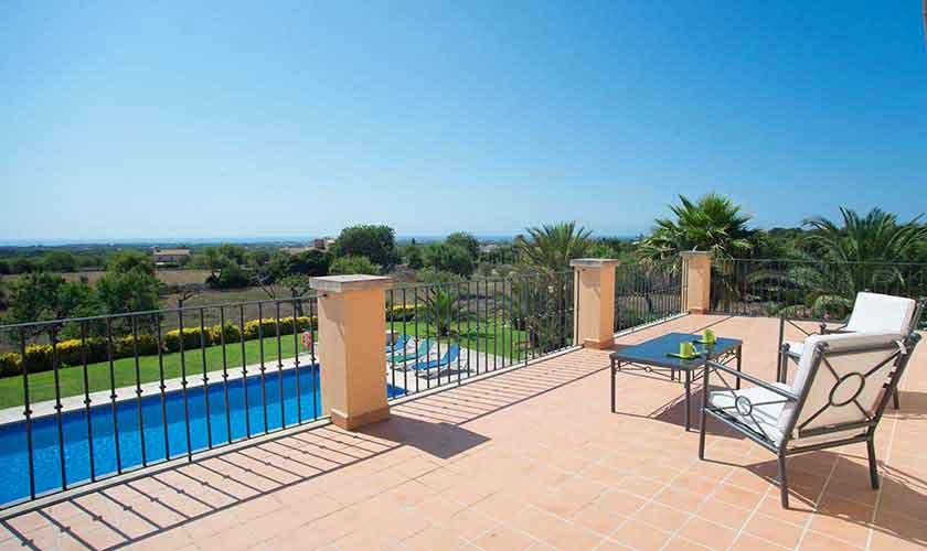 Terrasse Finca Mallorca Südosten PM 6547