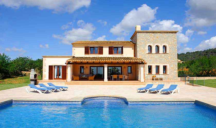 Pool und Finca Mallorca Südosten PM 6548