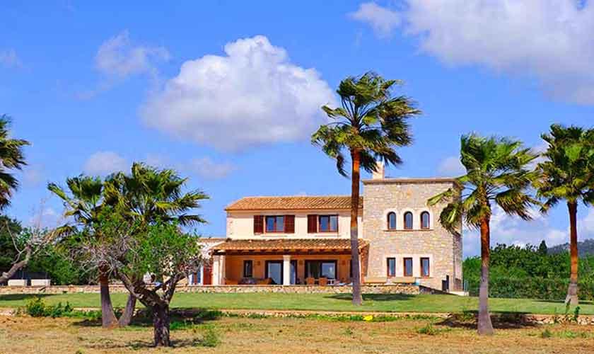 Blick auf die Finca Mallorca Südosten PM 6548