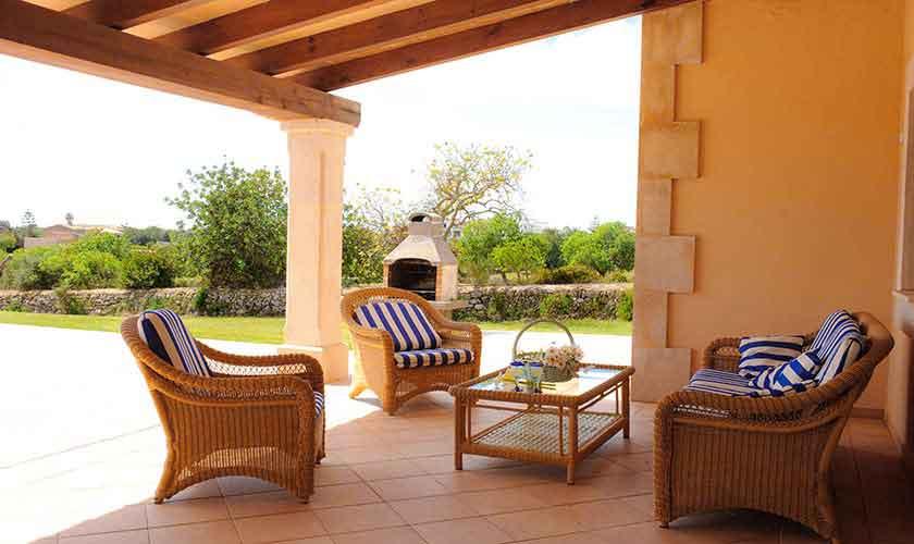 Terrasse Finca Mallorca Südosten PM 6548