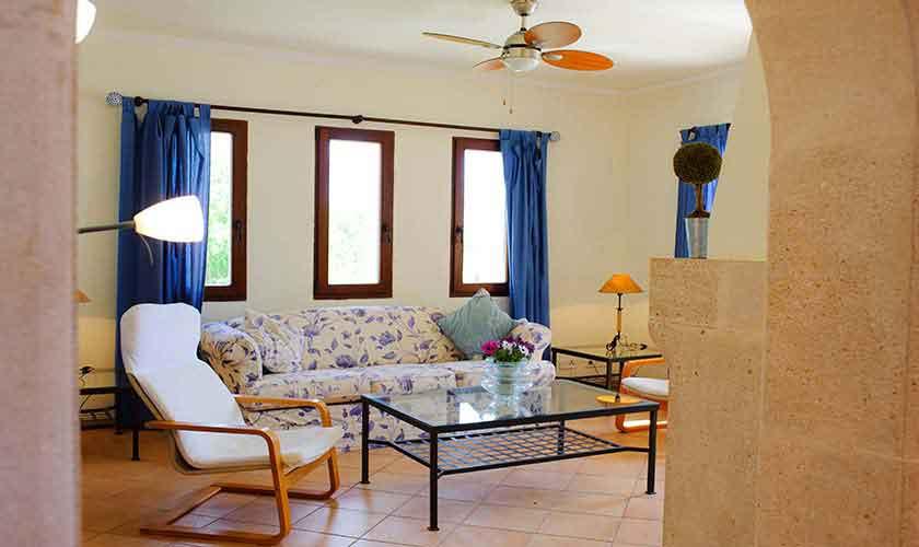 Wohnraum Finca Mallorca Südosten PM 6548