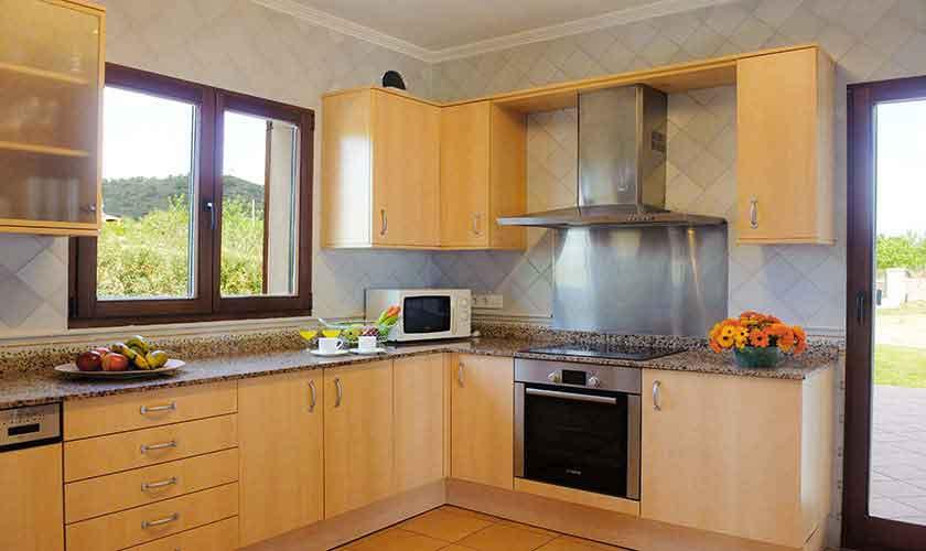 Küche Finca Mallorca Südosten PM 6548