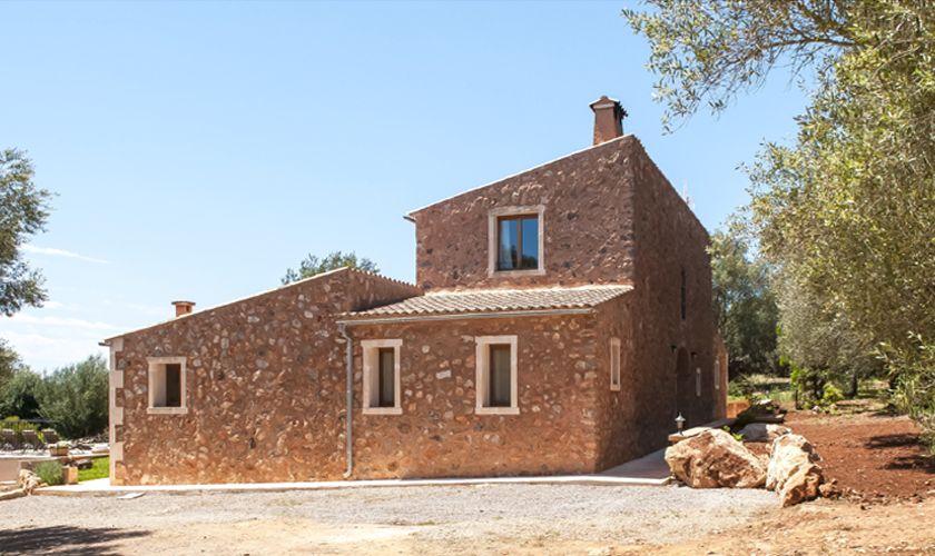 Blick auf die Ferienfinca Mallorca Südosten PM 6549