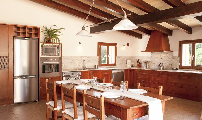 Küche Finca Mallorca Südosten PM 6549