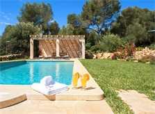 Poolblick Finca Mallorca Südosten PM 6549