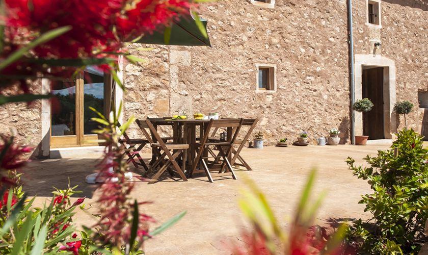 Terrasse Finca Mallorca Südosten PM 6549