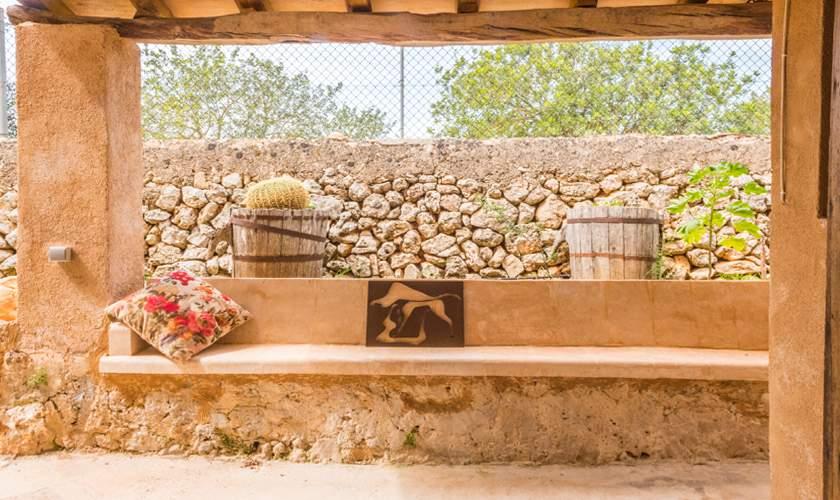 Terrasse Finca Mallorca für 10 Personen PM 6550