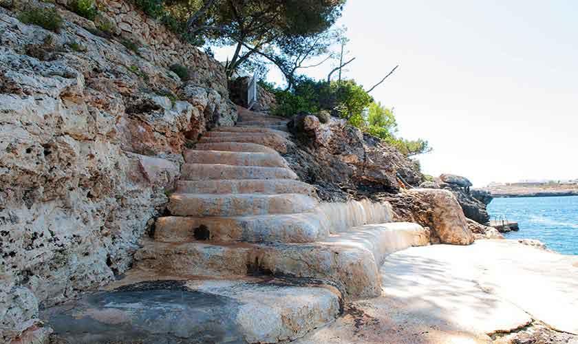 Meereszugang Ferienhaus Mallorca Südosten PM 6551