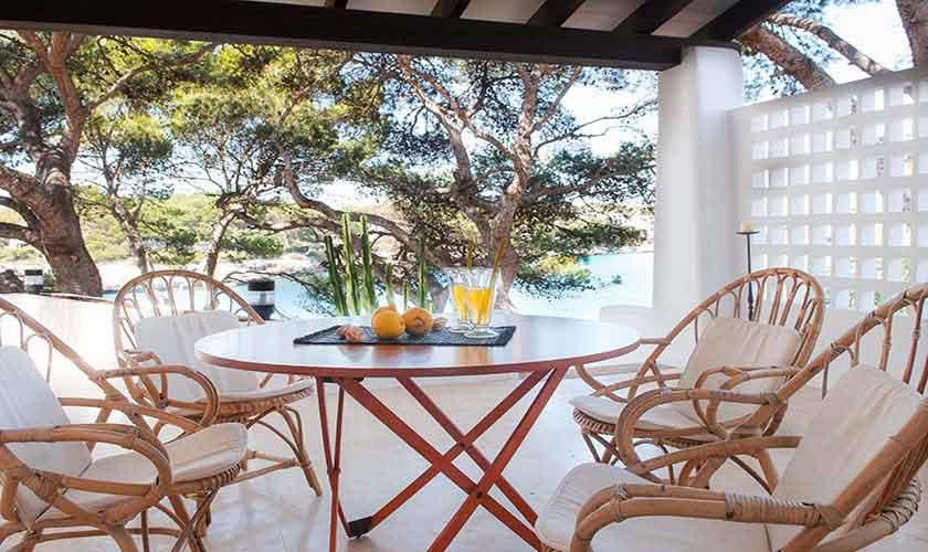 Terrasse Ferienvilla Mallorca Südosten PM 6551