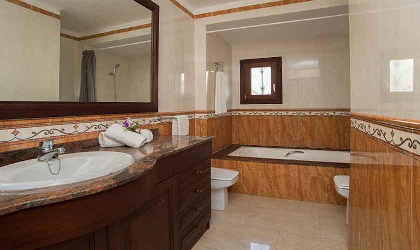 Badezimmer Ferienhaus Mallorca Südosten PM 6554