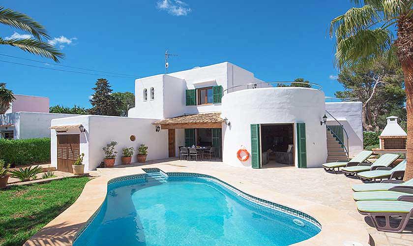 Pool und Ferienhaus Mallorca Südosten PM 6554