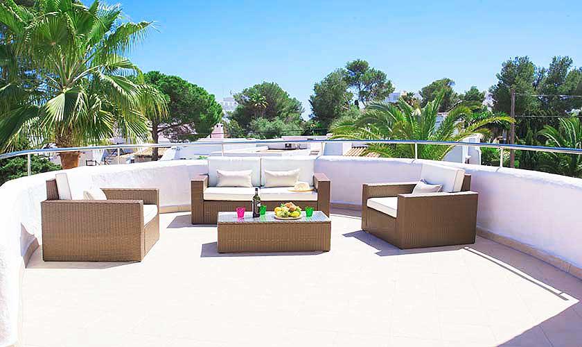 Terrasse Ferienhaus Mallorca Südosten PM 6554