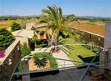 Blick von oben Finca Mallorca Südosten 10 Personen PM 6555