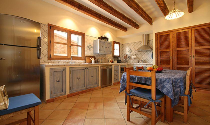 Küche Finca Mallorca Südosten 10 Personen PM 6555