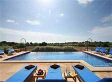 Poolblick Ferienvilla Mallorca 10 Personen PM 6555