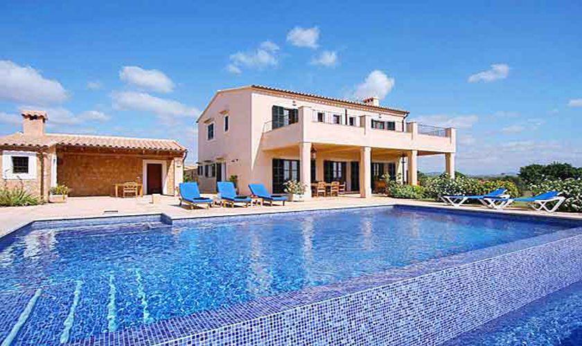 Pool und Finca Mallorca Südosten 10 Personen PM 6555
