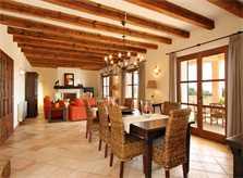 Wohnraum Finca Mallorca Südosten 10 Personen PM 6555