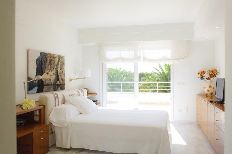 Schlafzimmer Ferienhaus Mallorca Südosten PM 6557