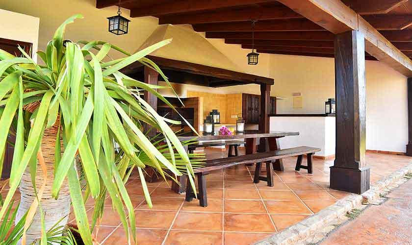 Barbecue Ferienvilla Mallorca Südosten PM 6561