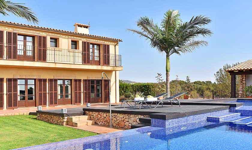 Pool und Ferienvilla Mallorca Südosten PM 6561