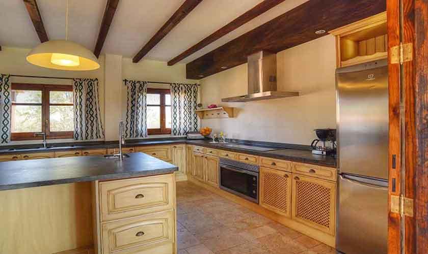 Küche Finca Mallorca Südosten PM 6561