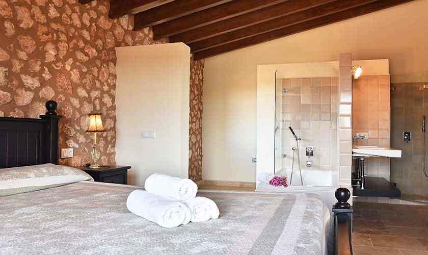 Schlafzimmer Finca Mallorca Südosten PM 6561