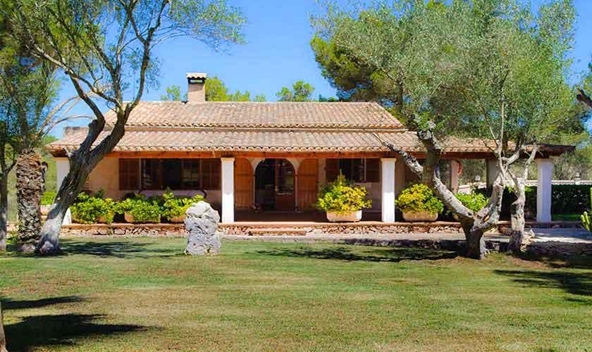 Blick auf das Ferienhaus Mallorca Südostküste PM 6567