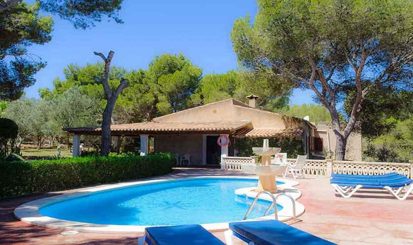 Pool und Ferienhaus Mallorca Südostküste PM 6567