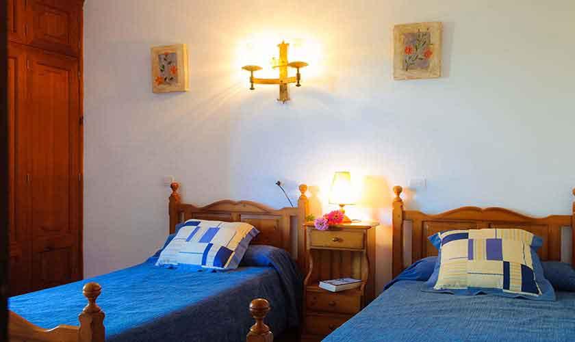 Schlafzimmer Finca Mallorca 6 Personen PM 6567