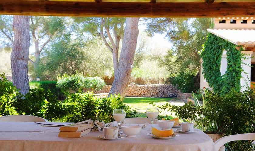 Terrasse Ferienfinca Mallorca Südostküste PM 6567