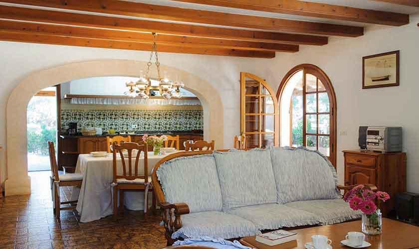 Wohnraum Finca Mallorca 6 Personen PM 6567
