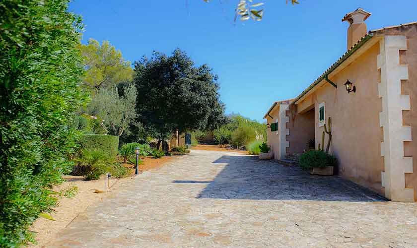 Blick auf die Finca Mallorca Südosten PM 6568