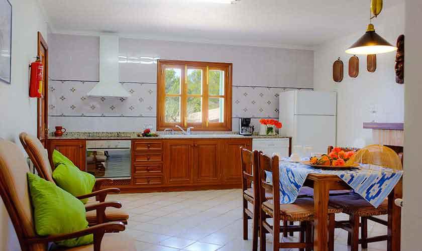 Küche Finca Mallorca Südosten PM 6568