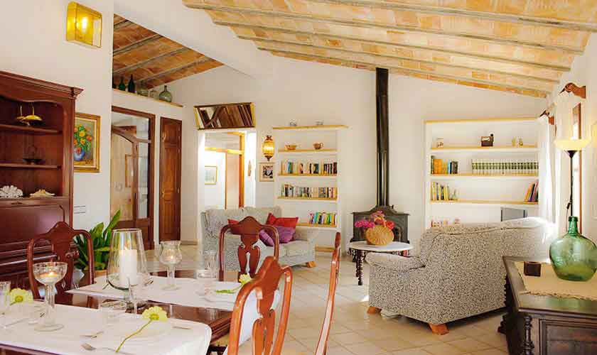 Wohnraum Finca Mallorca Südosten PM 6568