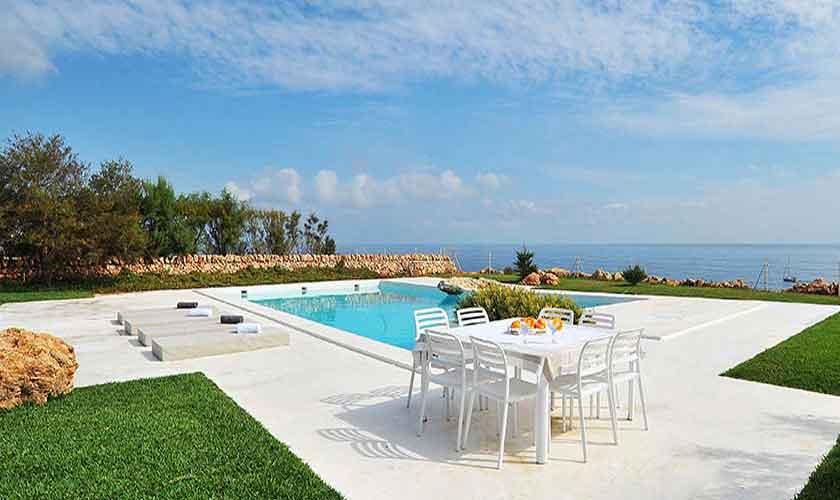 Terrasse und Pool Ferienvilla Mallorca PM 6578