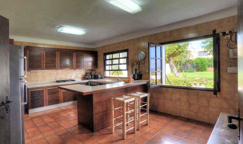 Küche Ferienhaus Mallorca Ostküste PM 6578