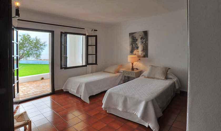Schlafzimmer Ferienhaus Mallorca Ostküste PM 6578